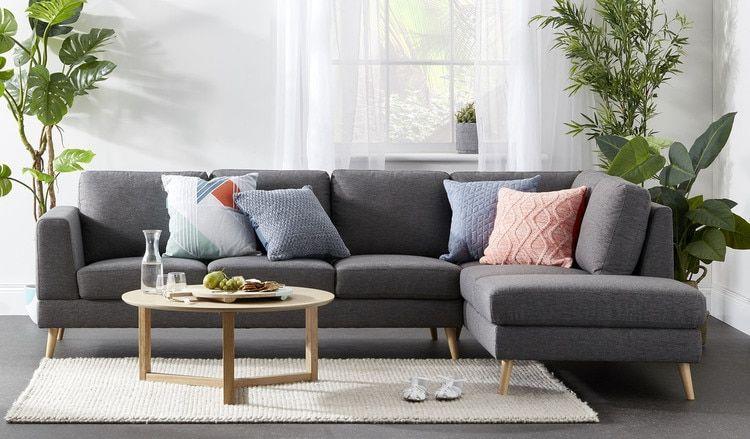 Asta 5 seat corner chaise in 2019 | Apartment | Sofa, Value ...