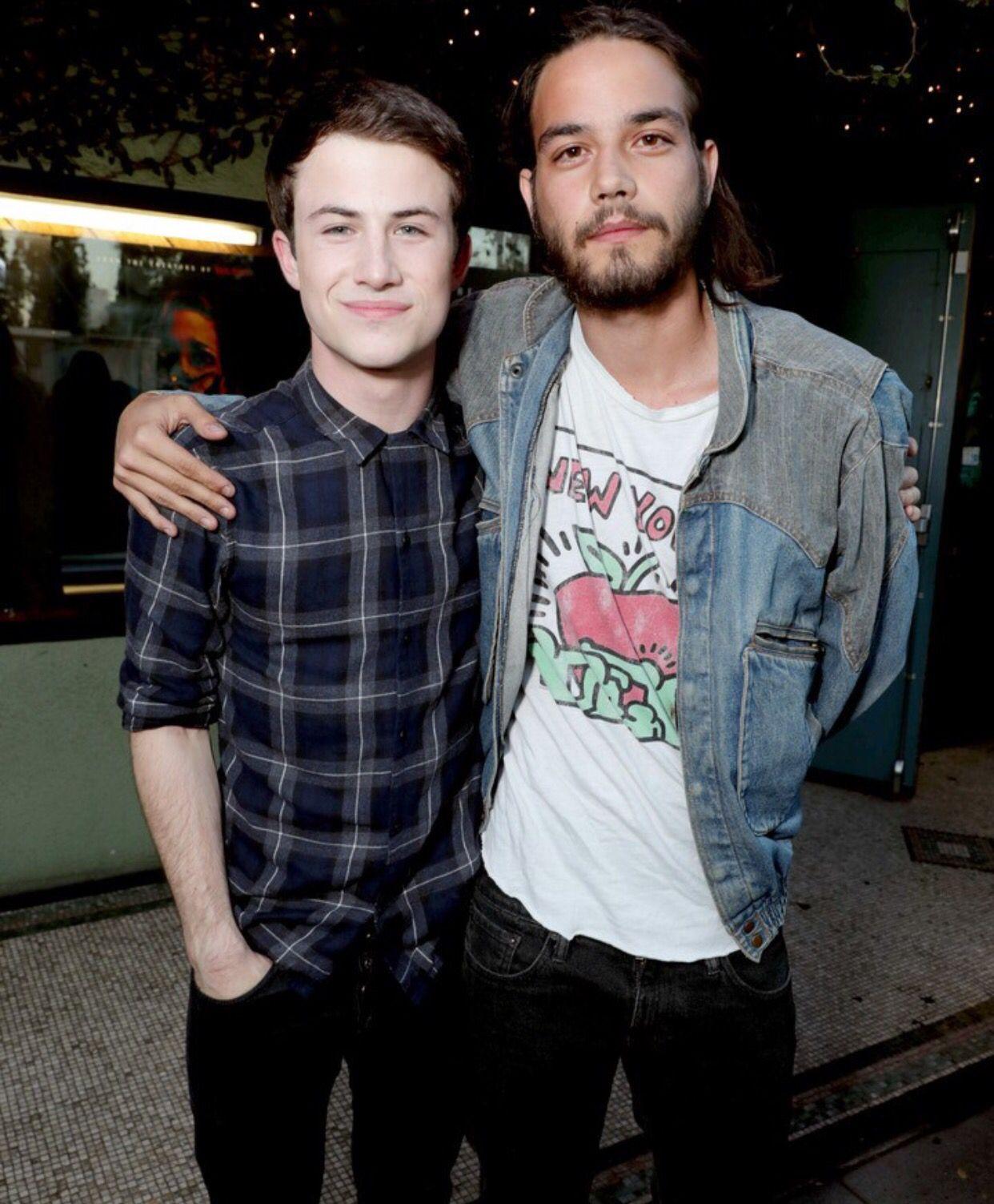 Dylan Minnette & Daniel Zovatto | Mens tops, Mens tshirts ...