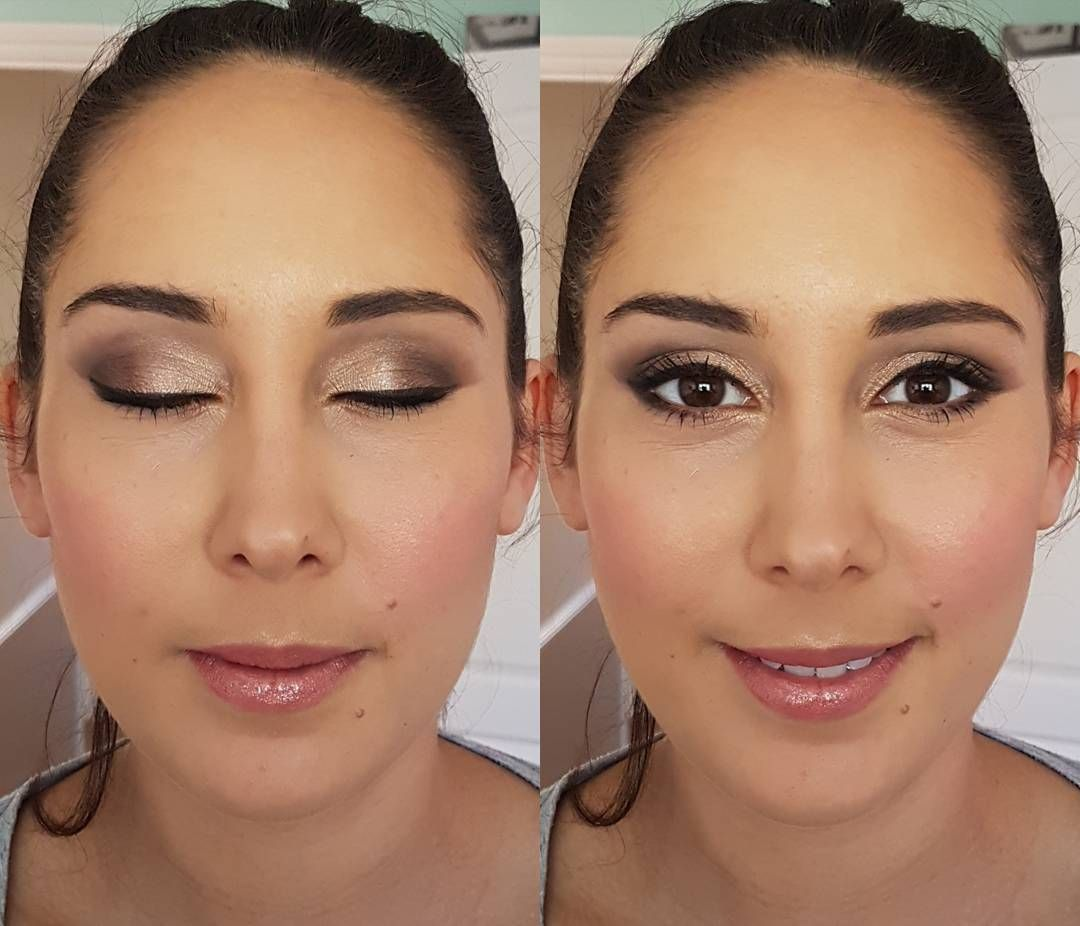 Today's Bridal Makeup Trial On Matron Of Honour To Be