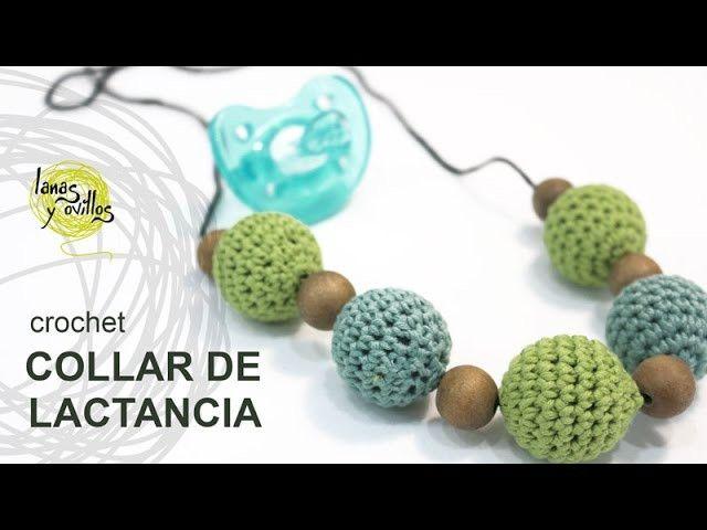Tutorial Collar Lactancia Crochet o Ganchillo | Crochet | Pinterest ...