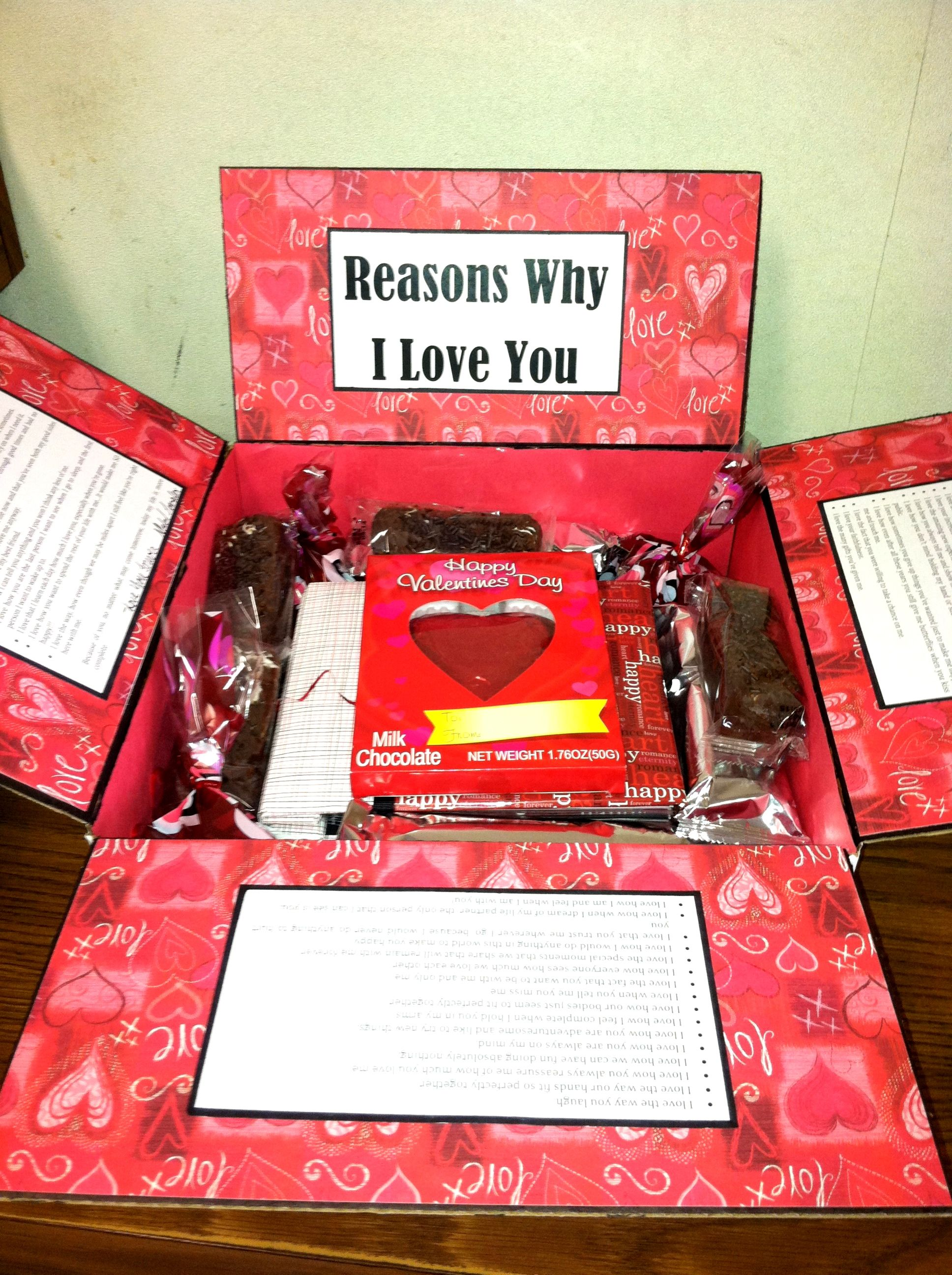 Valentine S Day Care Package I Made For My Soldier Care