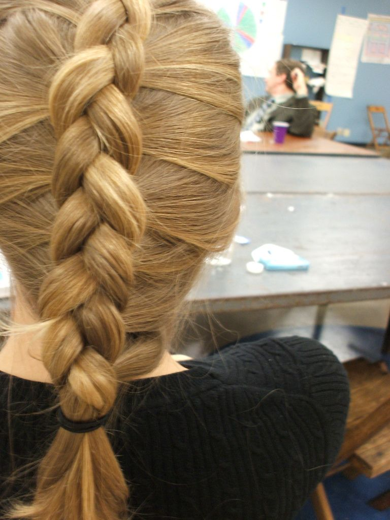 Inside Out Braid Braided Hairstyles Hair Styles Hairstyle