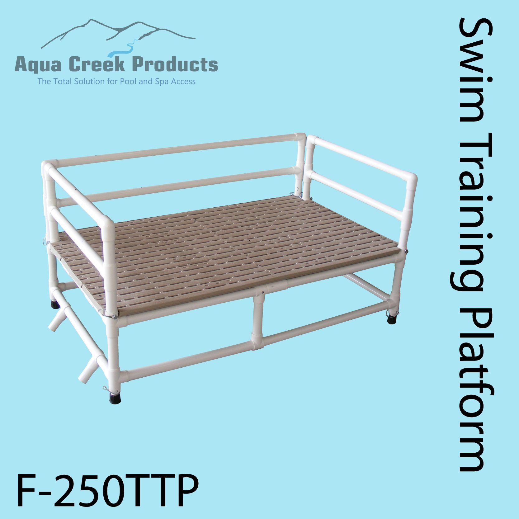 Swim Platform Idea For Shallow End Pool Steps Above Ground