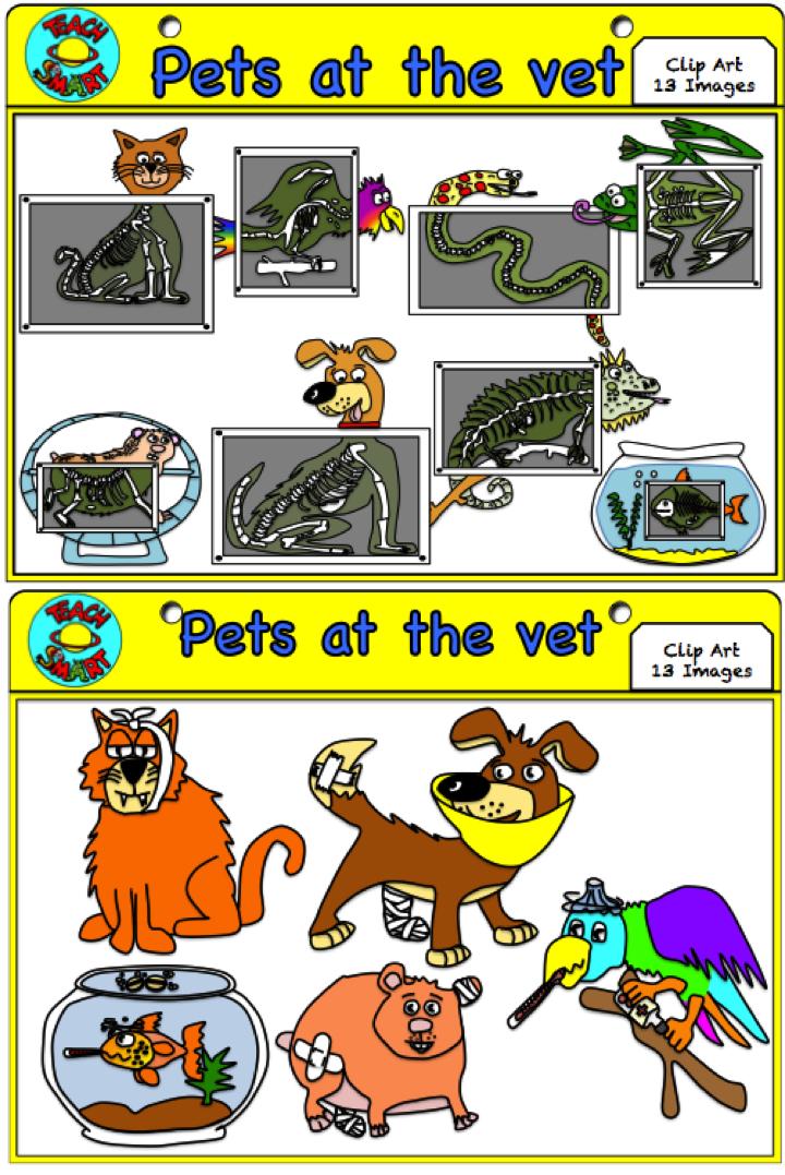 Pets At The Vet Clip Art Pet Vet Vets Pets
