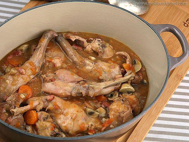 Lapin saut chasseur recette lapin chasseur bouquet - Bouquet garni en cuisine ...