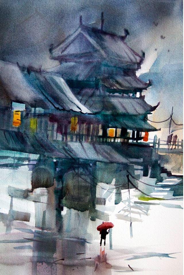 John Salminen, 1945 | Abstract Cityscape painter | Tutt'Art@ | Pittura • Scultura • Poesia • Musica