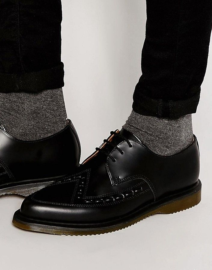 Dr Martens Ally Lace Up Creeper Derby Shoes