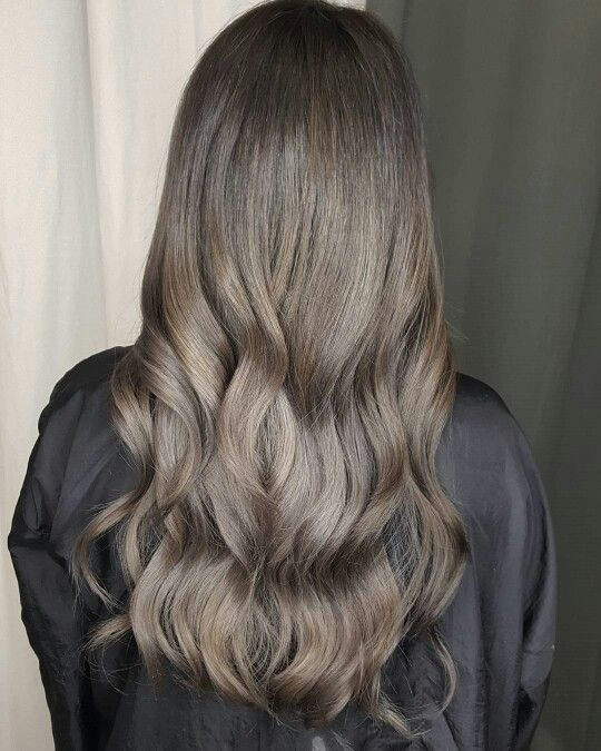 Ashy Cool Tone Brown More With Images Ashy Hair Ash Hair
