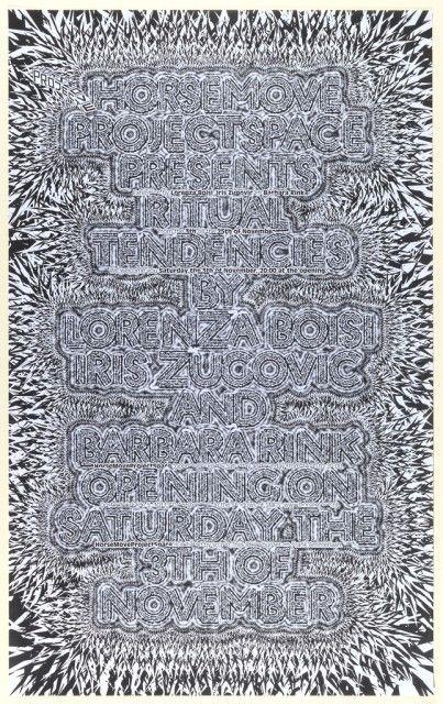 Kết quả hình ảnh cho Ritual Tendencies 2007 Cooper-Hewitt