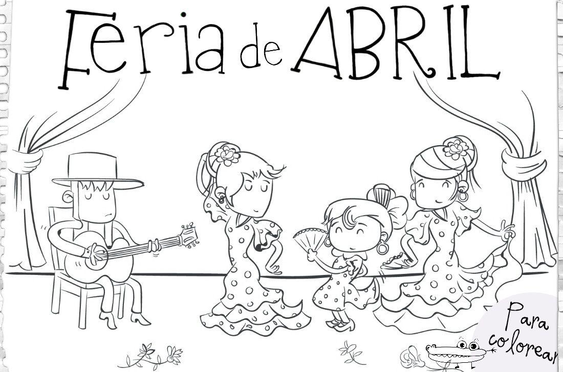 feria abril dibujo - Buscar con Google | Feria de Abril | Pinterest ...