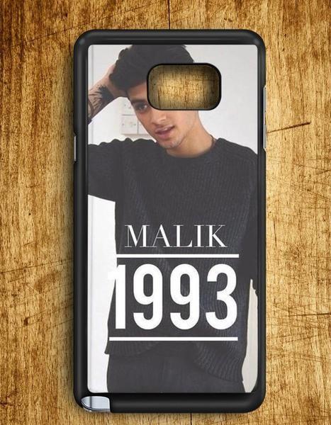 Zayn Malik 1993 One Dirctions Samsung Galaxy Note Edge Case