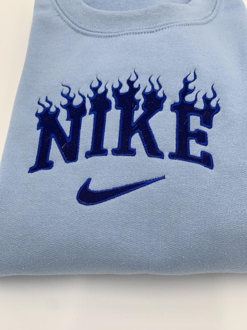 Custom Embroidered Crewneck Custom Flame Embroidered Logo Crew Personalized Embroidered Sweatshirt Crewneck Fire Sweatshirt Vintage Crewneck Sweatshirt Nike Crewneck Sweatshirt Embroidered Crewneck [ 1059 x 794 Pixel ]