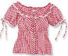 #Stockerpoint Trachtenbluse LUNA Dirndlbluse Dirndl Trachten Bluse Wiesn 34 Rot