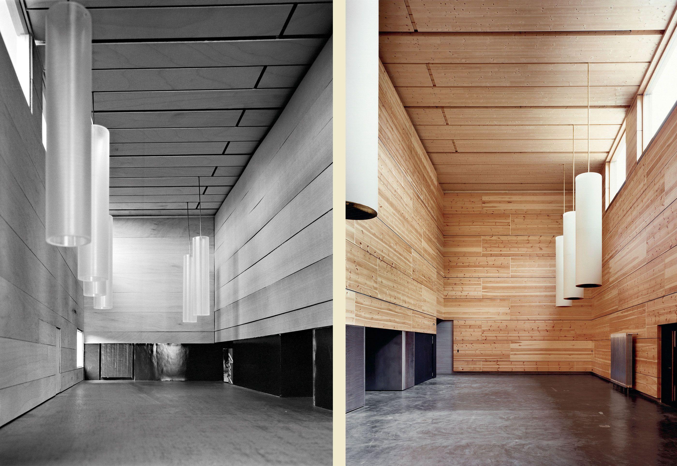 Foyer Art Vif Bienne : Swiss school of engineering for the wood industry bienne