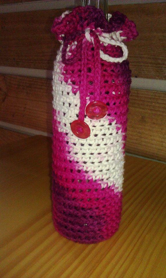 Crochet Wine Sac