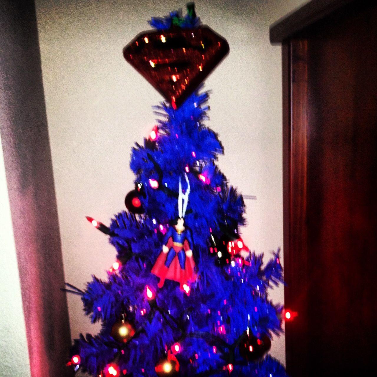 Superman Christmas Tree