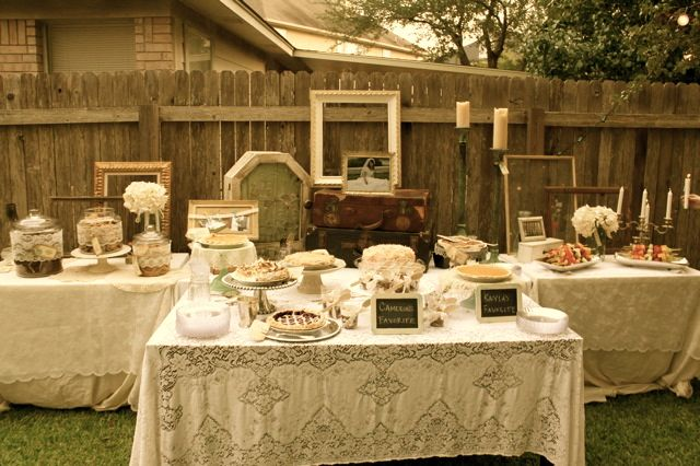 vintage backyard wedding receptions | Thanks so much, Tauni! You made our  doors look stunning! And .. - Loot Charms In Vintage Backyard Wedding Wedding Ideas Wedding