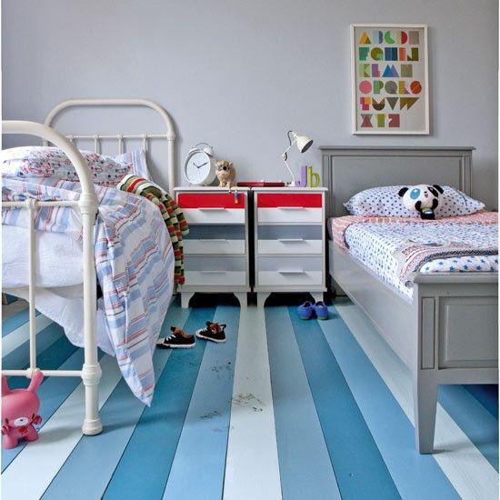 Paint The Floor Childrens Bedroom Decorating Ideas Housetohome Co Uk