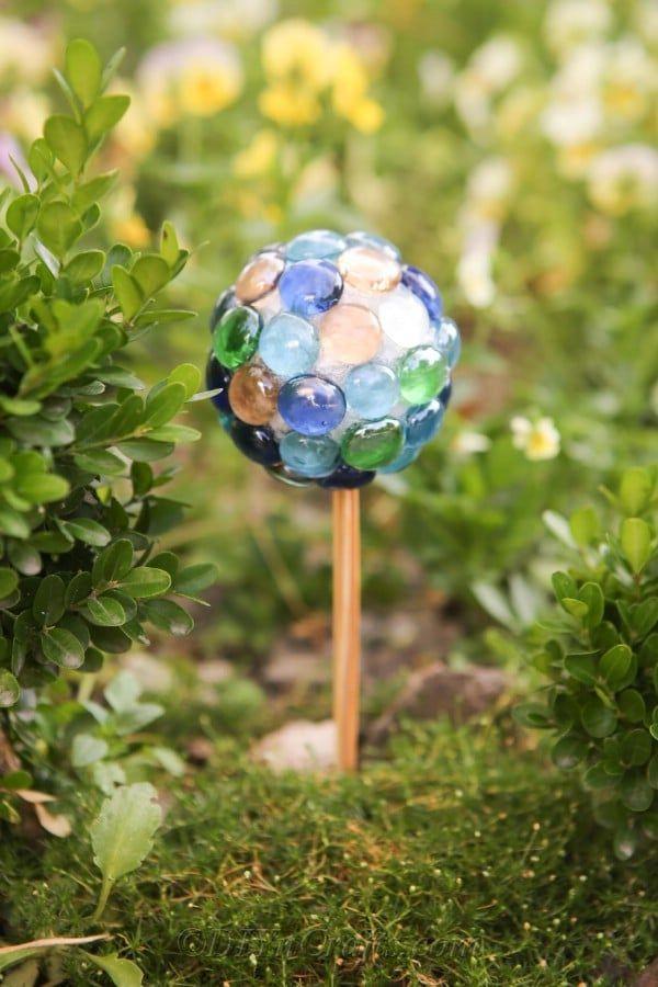 DIY Ball Lawn Ornament Garden Decoration   Lawn ornament ...