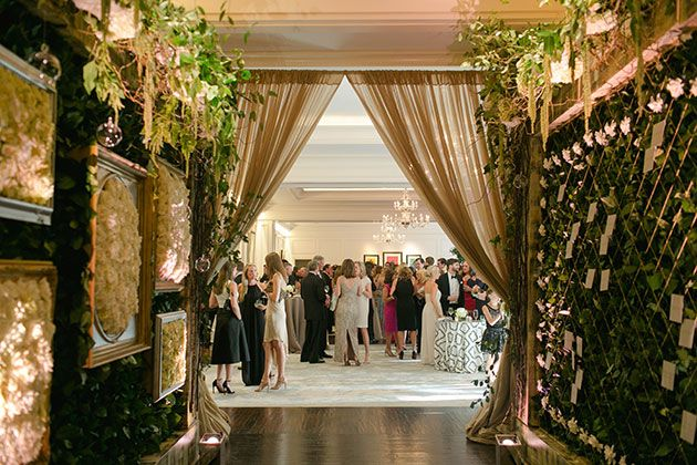 Brides: Georgia Wedding at the St. Regis Atlanta: Photos. Planning and Design by Pineapple Productions.  Photography by Kate Headley.  Flowers and Decor by Legendary Events.