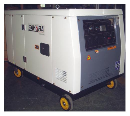 Soundproof Diesel Generator 12kva Diesel Generators Diesel Generation