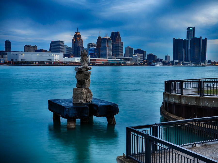 "500px / Photo ""River Art"" by Steven Wosina  Detroit, MI"