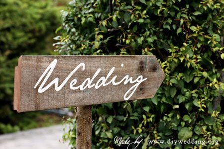 really want to do some wooden wedding signs, maybe \