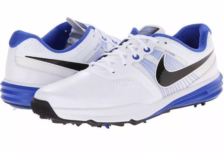nike lunarlon golf shoes blue