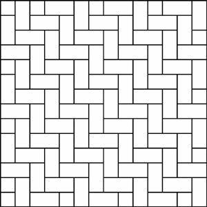 Herringbone 90 Degree Used For Walkways Paver Patterns Brick Patterns Patterned Floor Tiles