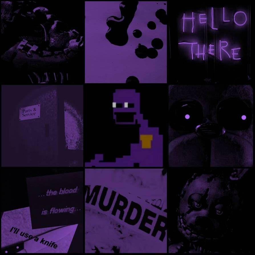 Pin By Generic Username On Arte Fnaf Wallpapers Purple Guy Anime Fnaf