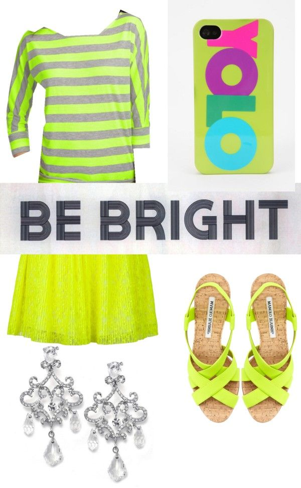 """""""Be Bright~~Green!"""" by metchat17 ❤ liked on Polyvore"""