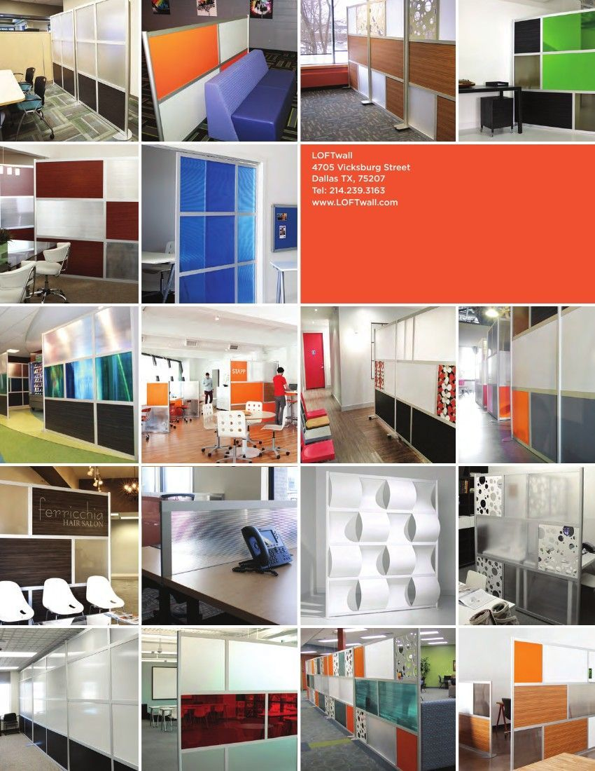 Loftwall flipbook modern room dividers u privacy screen