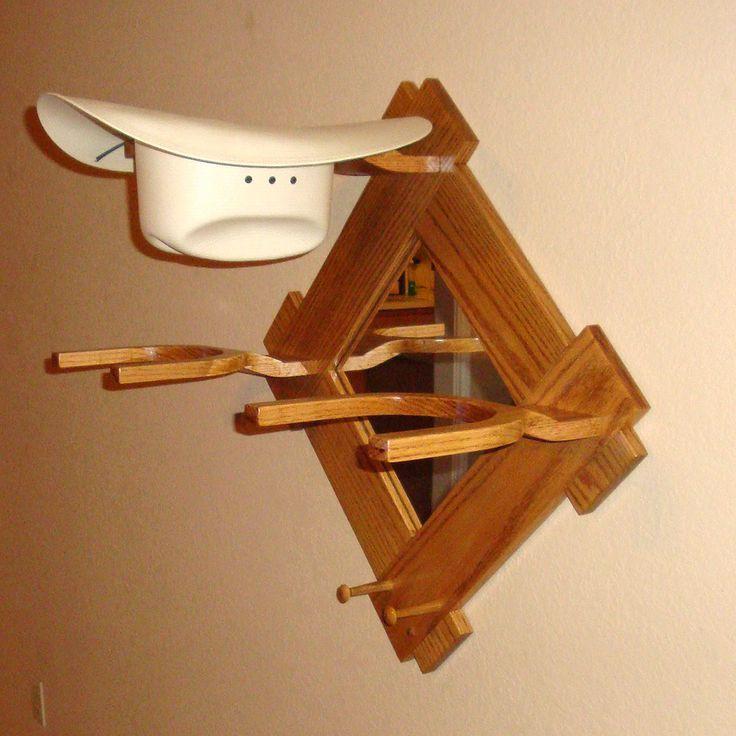 Wooden Cowboy Hat Rack Woodworking Plans Diy Hat Rack Cowboy