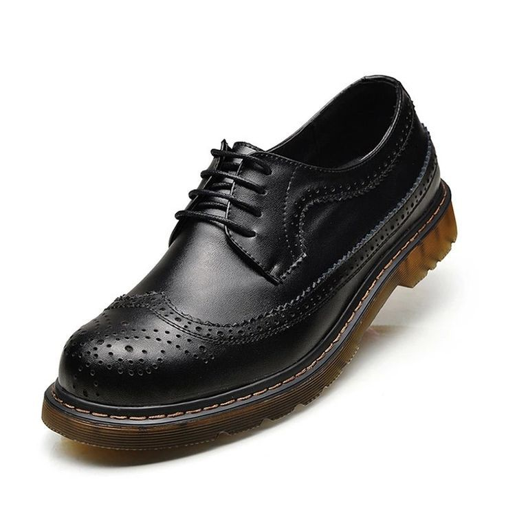 Genuine Leather Oxford Shoes For Men LaceUp Mens Casual Shoes Brand Man Leather Brogue Shoes Genuine Leather Oxford Shoes For Men LaceUp Mens Casual Shoes Brand Man Leath...