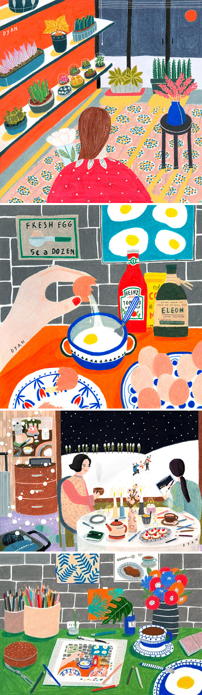Illustrations by Dayeon An / on the Blog!