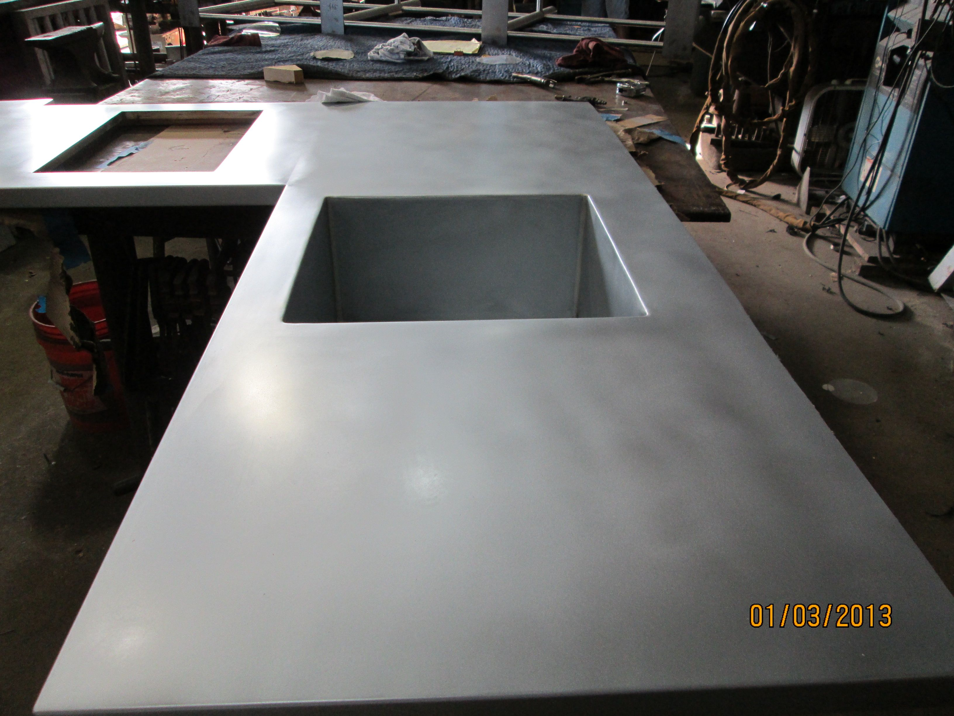 Zinc Sheets From Rotometals Perfect For Countertops Bars Kitchen Range Hoods Roofs Backslashes With Images Zinc Countertops Countertops Metal Countertops