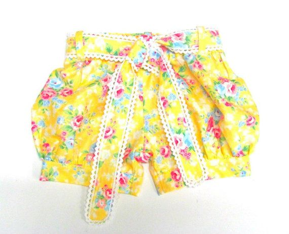 Girls Shorts Pattern Downloadable Pdf Sizes 1 to by BobkinDesigns ...