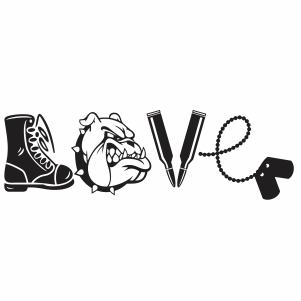 Download Pin on Love army svg