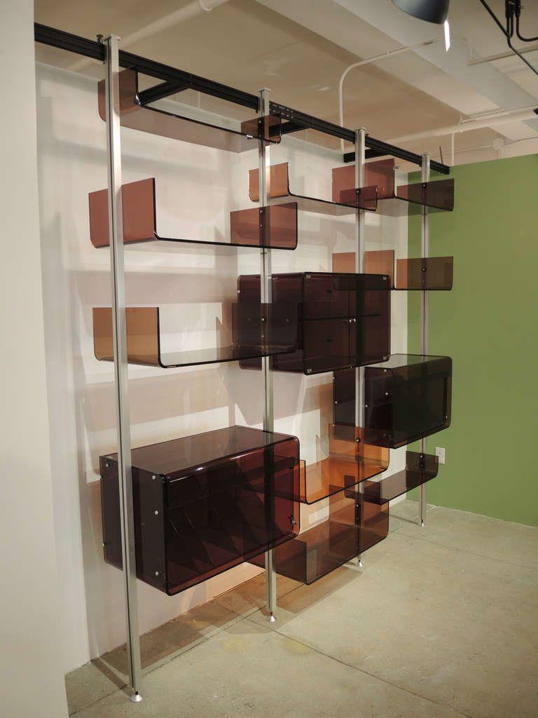 Modern Modular Shelving modular shelving unitmichel ducaroy | modular shelving