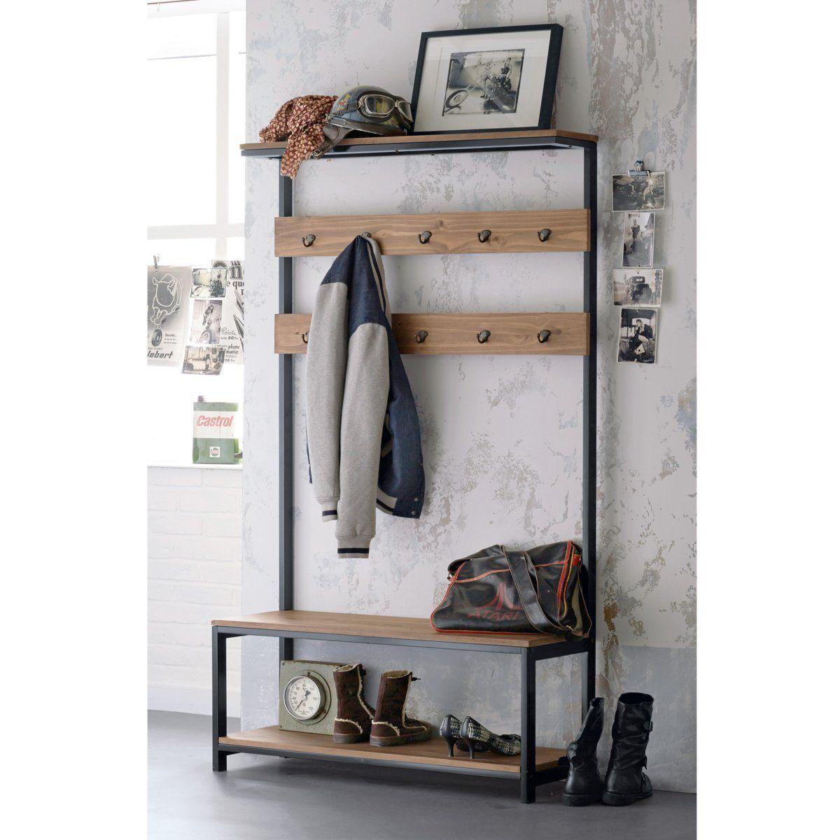 Meuble D Entrée Industriel meuble d'entrée hiba | meuble entrée, mobilier de salon et