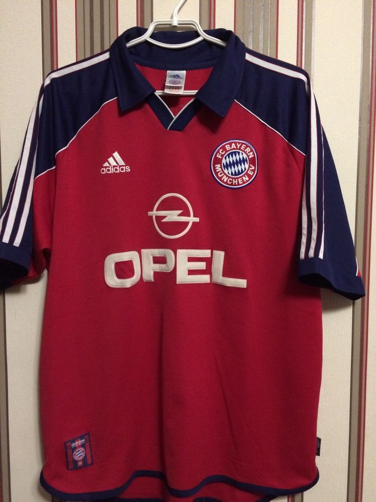 2a59d87be25 FC BAYERN MUNICH 2000 MATCH VERSION SHIRT JERSEY Soccer ADIDAS Sz L (eBay  Link)