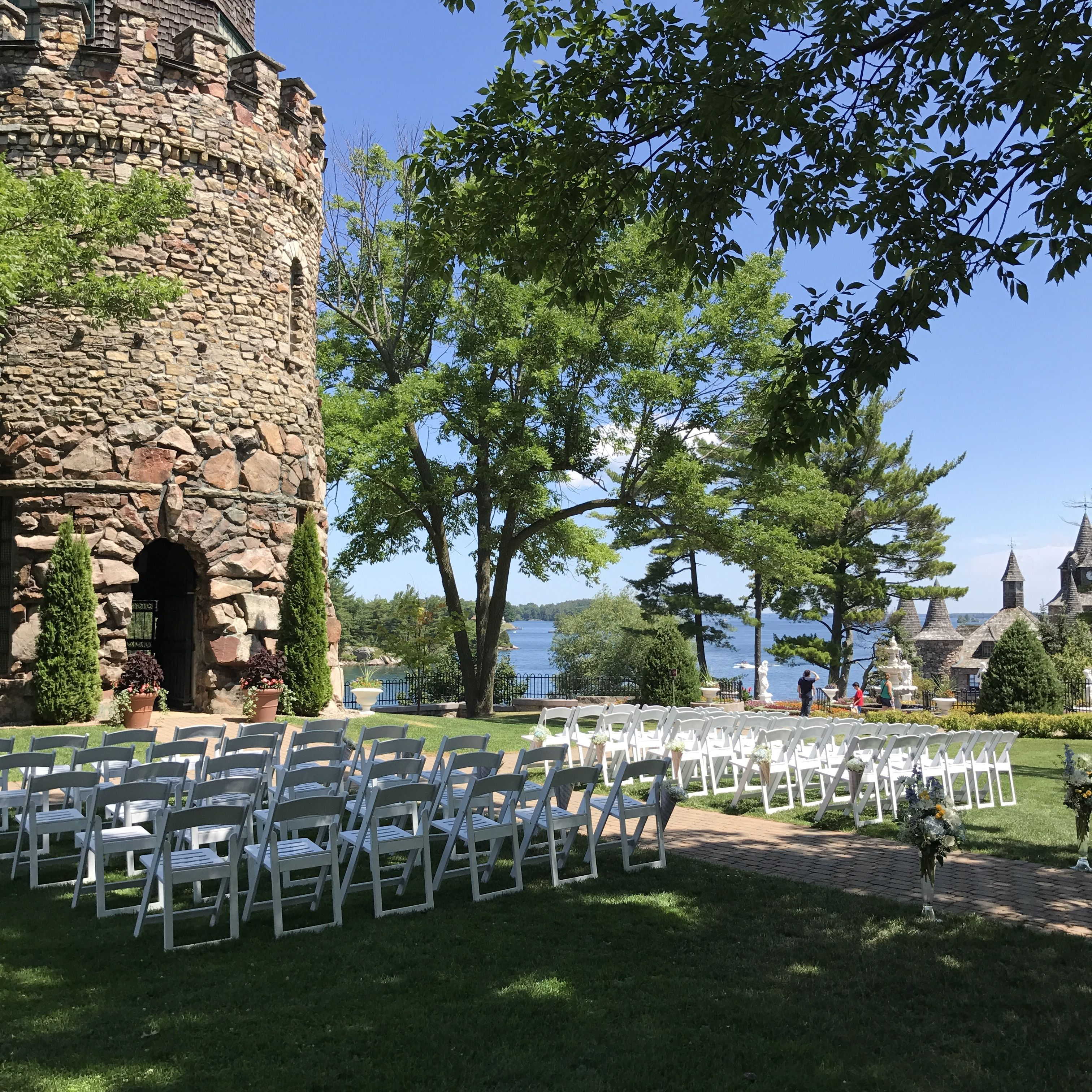 Boldt Castle wedding, Thousand Islands, NY Flowers by