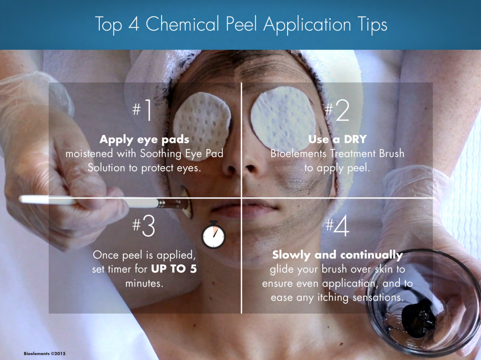 Estheticians Here Are Our Four Top Tips For Chemical Peel Application Chemical Peel Esthetician Professional Skin Care Products