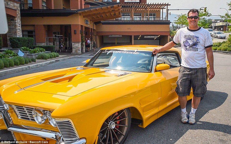 Mechanic transforms rusty Buick worth $400 into $1.5MILLION custom