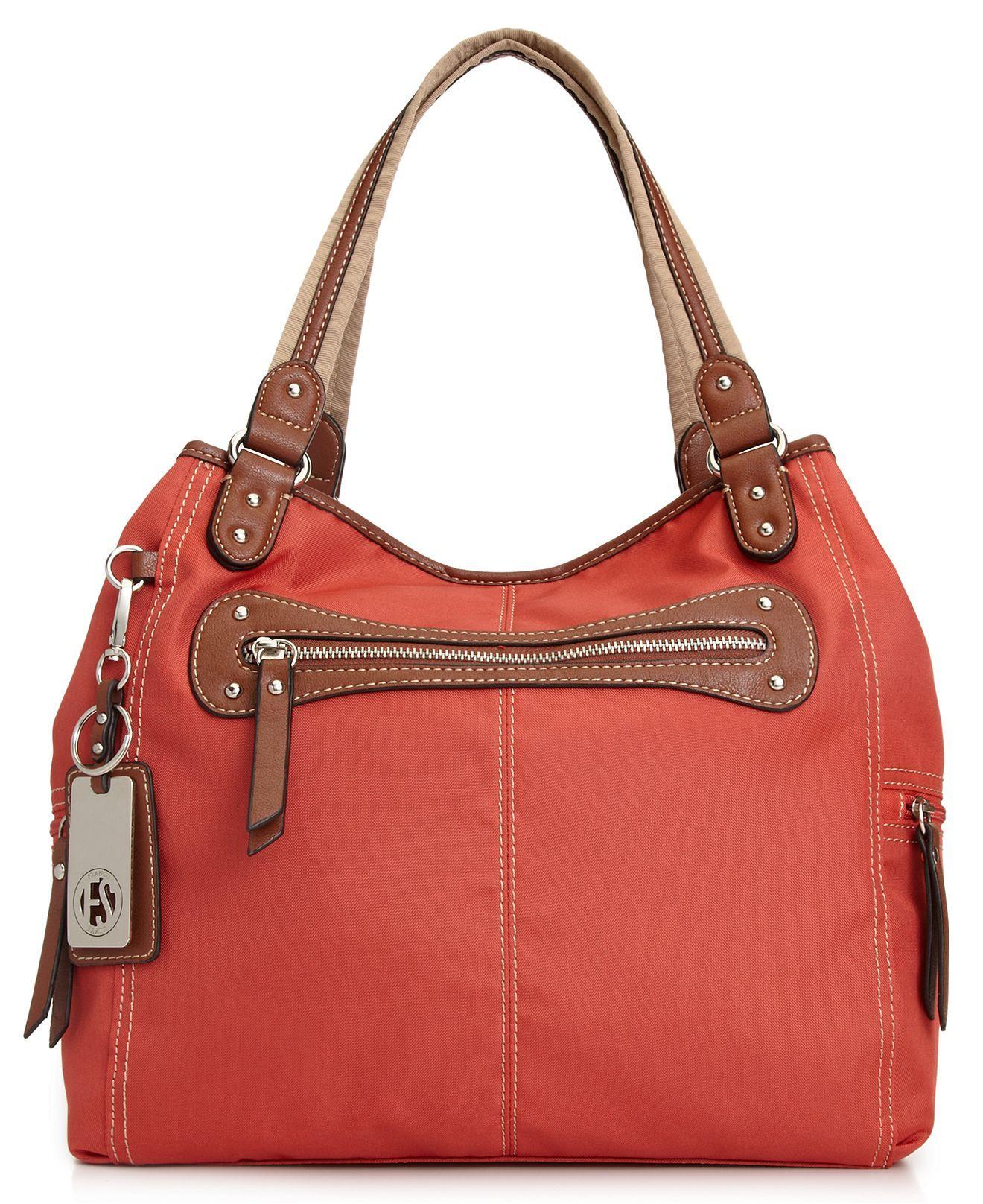 Franco Sarto Handbag Cordura Tote Bags Handbags Accessories Macy S