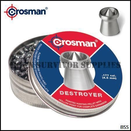 Crosman pointed .22 Pellets