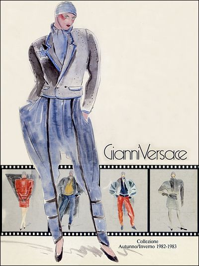 ce69fb9be5 GIANNI VERSACE | Catalogo # 3 Collezione Donna Autunno-Inverno 1982/83  (Fronte)