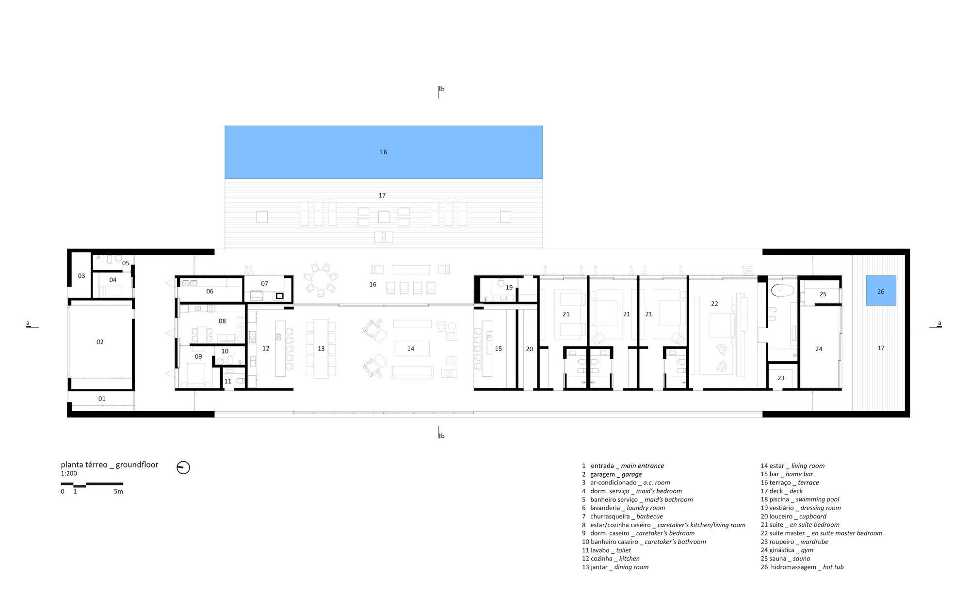 Gallery lee house studio mk27 marcio kogan eduardo glycerio 29