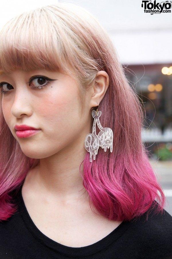 Tokyo Hair Hair Dye Pinterest Tokyo Fashion Harajuku And Pink
