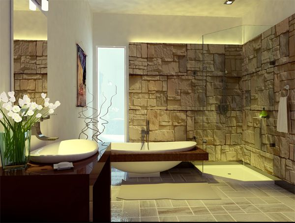 1000 Ideas About Contemporary Bathroom Designs On Pinterest   Spa. Relaxing Bathroom Decor Ideas   Rukinet com